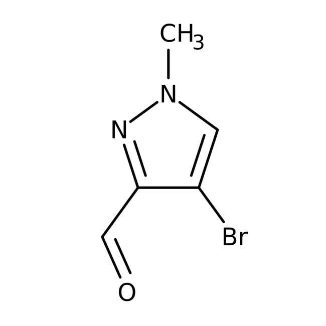 Alfa Aesar™4-Brom-1-Methyl-1-H-Pyrazol-3-Carboxaldehyd, 97% 250mg Alfa Aesar™4-Brom-1-Methyl-1-H-Pyrazol-3-Carboxaldehyd, 97%