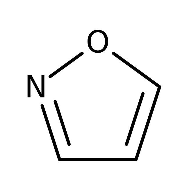 Isoxazole, 99%, ACROS Organics™ 10g; Glass bottle Isoxazole, 99%, ACROS Organics™