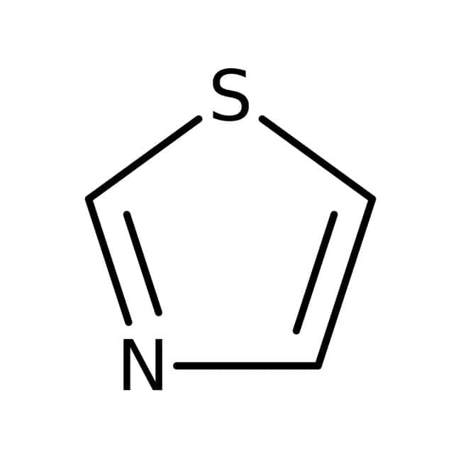 Thiazole, 99%, ACROS Organics™ 5g; flacon en verre Thiazole, 99%, ACROS Organics™