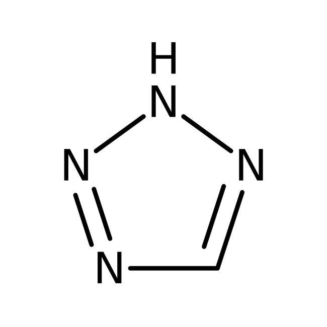 Tétrazole, solution de 3 à 4% en poids dans l'acétonitrile, AcroSeal™, AcrosOrganics 1 l ; flacon en verre AcroSeal Tétrazole, solution de 3 à 4% en poids dans l'acétonitrile, AcroSeal™, AcrosOrganics