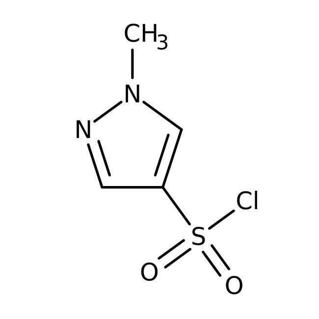 Alfa Aesar™1-Methyl-1H-pyrazole-4-sulfonyl chloride, 97%