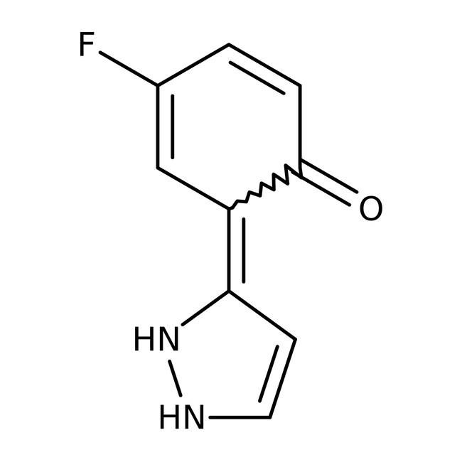 4-Fluoro-2-(1H-pyrazol-3-yl)phenol, 97%, ACROS Organics™