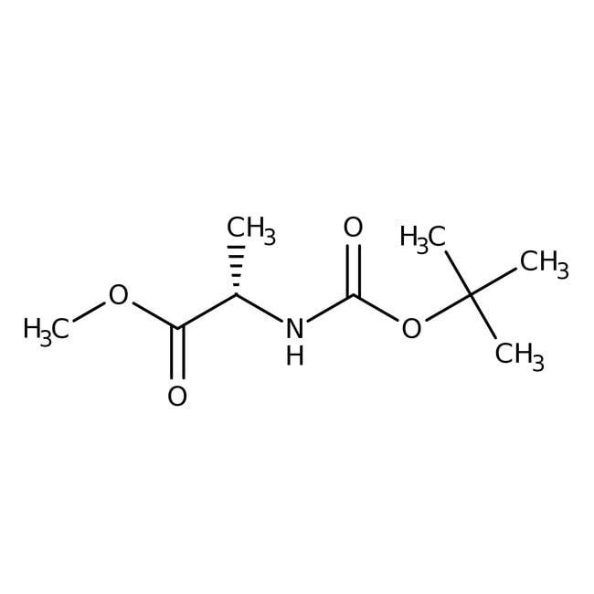 Alfa Aesar™N-Boc-L-alanine methyl ester, 95%