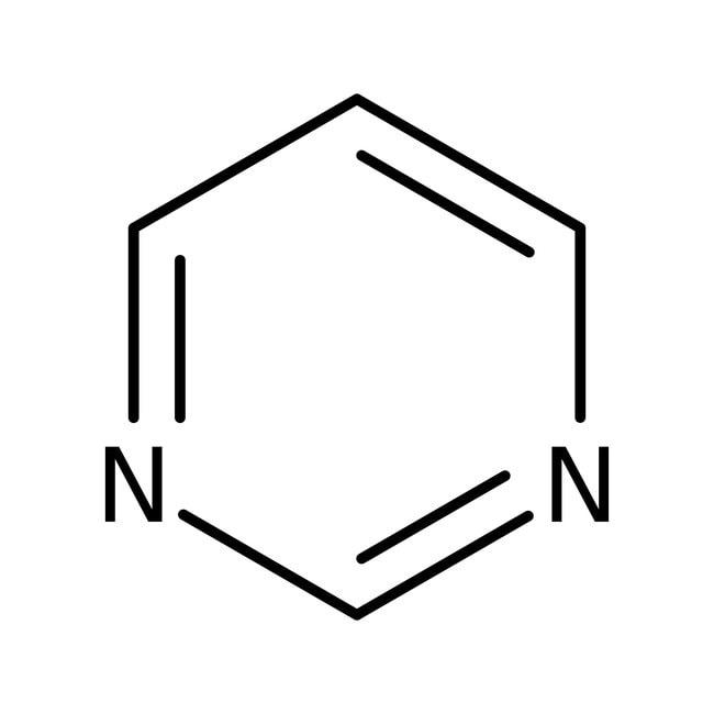 Pyrimidine, 99%, ACROS Organics™ 5g; Glass bottle Pyrimidine, 99%, ACROS Organics™
