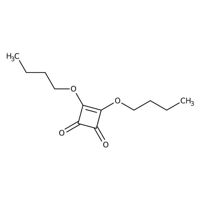 Squaric Acid Dibutyl Ester, 97%, ACROS Organics™: Ethers Organooxygen compounds