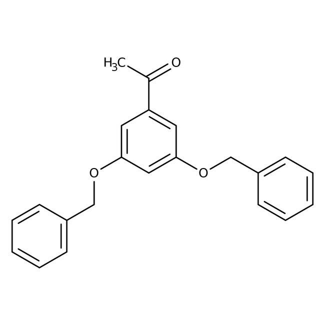 Alfa Aesar™3',5'-Dibenzyloxyacetophenone, 98% 10g Alfa Aesar™3',5'-Dibenzyloxyacetophenone, 98%