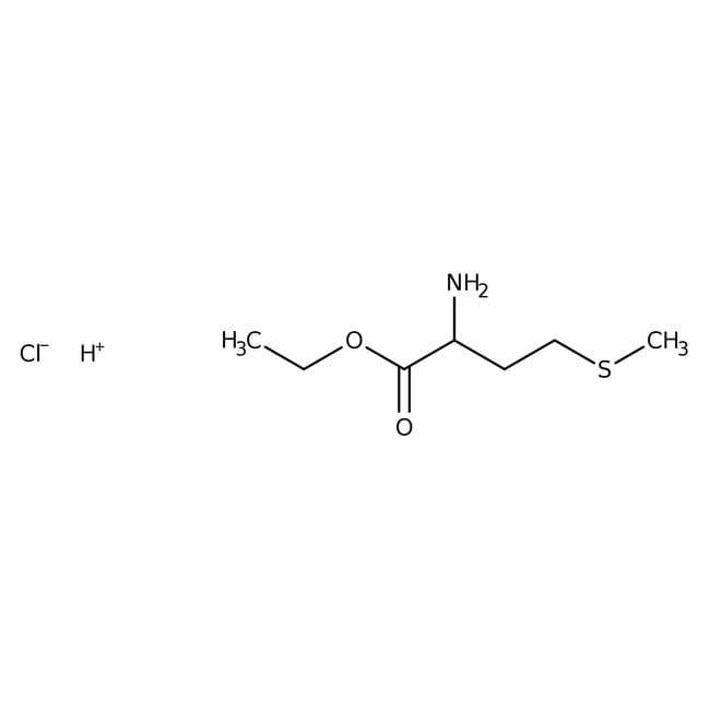 L-Methionine ethyl ester hydrochloride, 99%, ACROS Organics