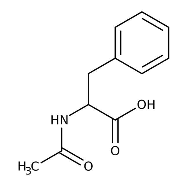 Alfa Aesar™N-Acetyl-DL-phenylalanine, 95% 100g Alfa Aesar™N-Acetyl-DL-phenylalanine, 95%