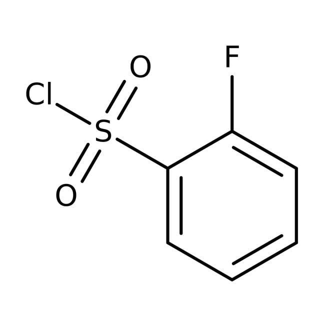 2-Fluorobenzenesulfonyl chloride, 97%, ACROS Organics