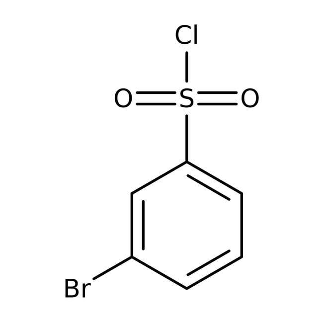 Alfa Aesar™Cloruro de 3-bromobencenosulfonilo, 97% 1g Alfa Aesar™Cloruro de 3-bromobencenosulfonilo, 97%