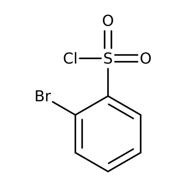 2-Bromobenzenesulfonyl chloride, 97%, ACROS Organics™