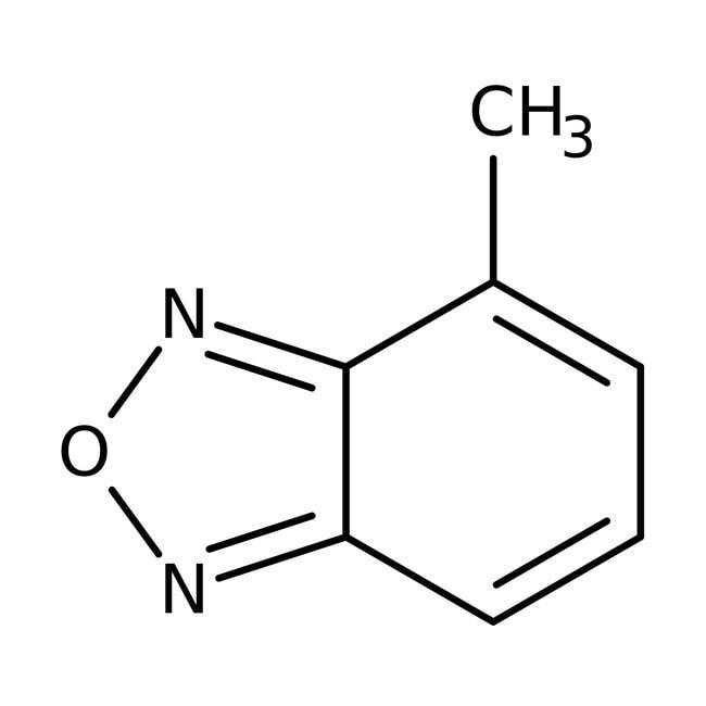 4-Methyl-2,1,3-benzoxadiazole, 95%, ACROS Organics™ 1g 4-Methyl-2,1,3-benzoxadiazole, 95%, ACROS Organics™