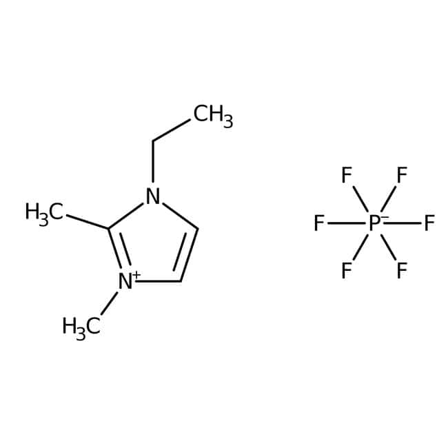 Alfa Aesar™1-Ethyl-2,3-dimethylimidazolium Hexafluorphosphat, 98% 10g Alfa Aesar™1-Ethyl-2,3-dimethylimidazolium Hexafluorphosphat, 98%