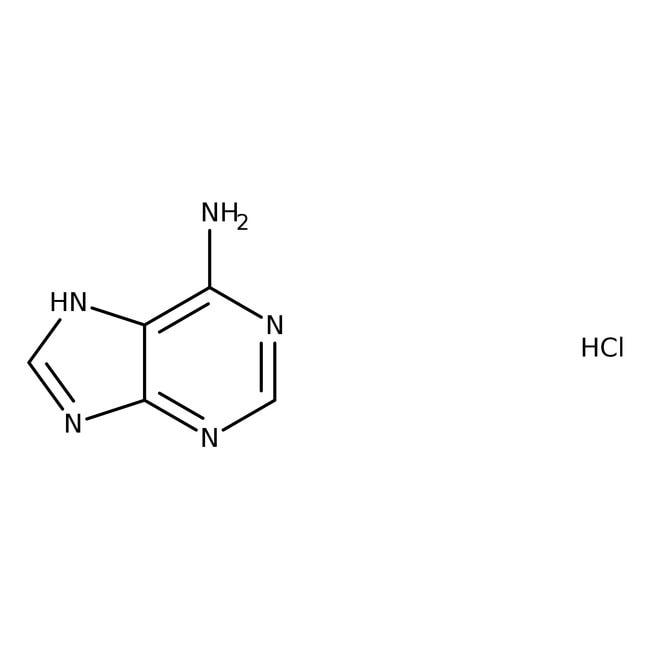 Alfa Aesar  Adenine hydrochloride, 98+%, cont. up to ca 5% water