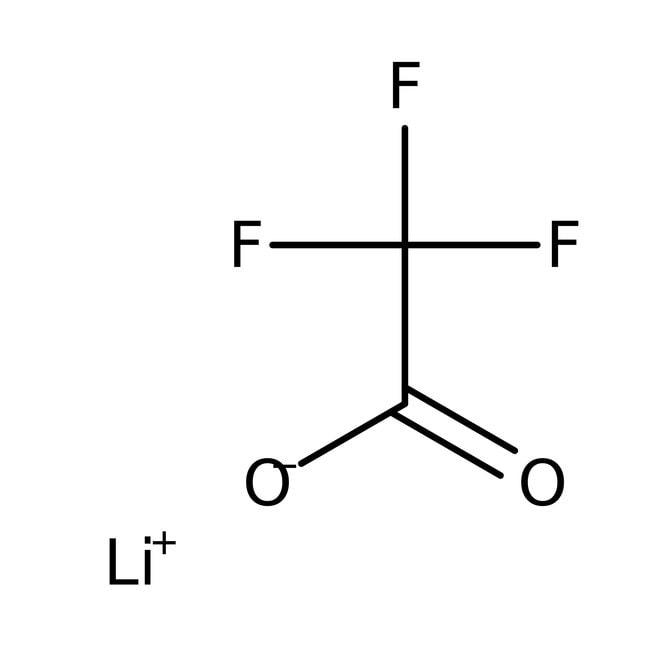 Alfa Aesar™Lithium trifluoroacetate monohydrate, 97% 10g Alfa Aesar™Lithium trifluoroacetate monohydrate, 97%