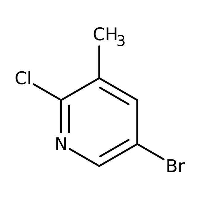 Alfa Aesar™5-Brom-2-chlor-3-methylpyridin, 98% 25g Alfa Aesar™5-Brom-2-chlor-3-methylpyridin, 98%