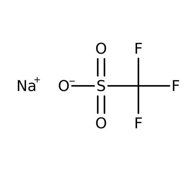 Sodium trifluoromethanesulfonate, 98%, ACROS Organics