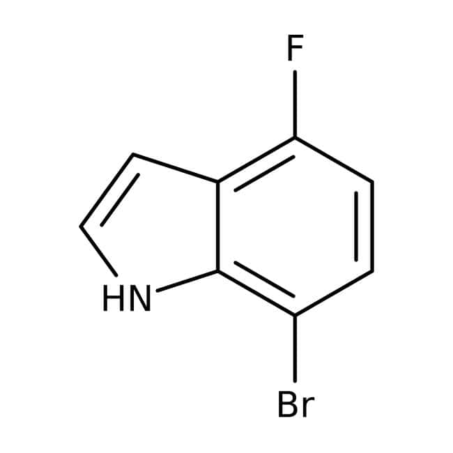 Alfa Aesar™7-Bromo-4-fluoroindole, 97%