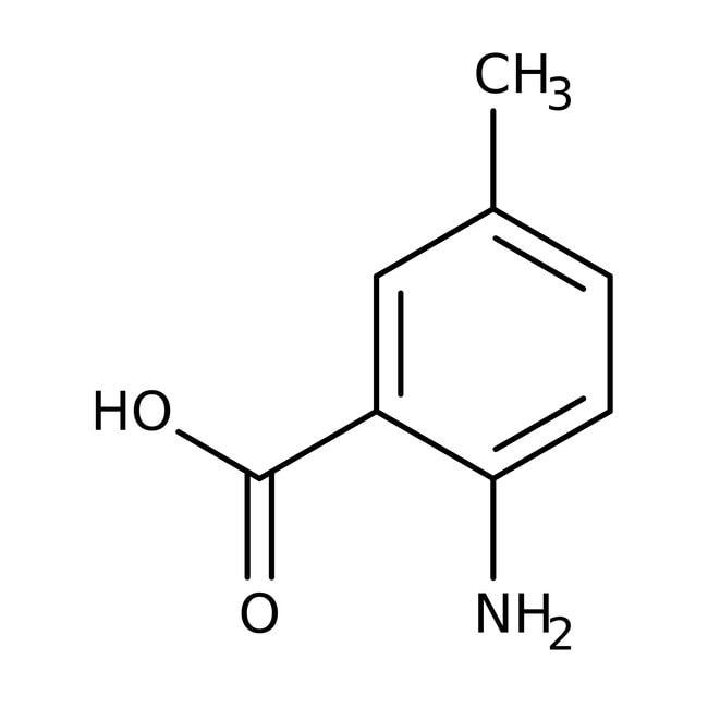 2-Amino-5-methylbenzoic acid, 97%, ACROS Organics™