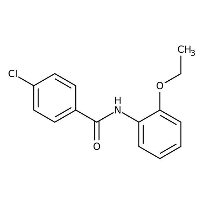 Alfa Aesar™4-Chloro-N-(2-ethoxyphenyl)benzamide, 97% 250mg Alfa Aesar™4-Chloro-N-(2-ethoxyphenyl)benzamide, 97%