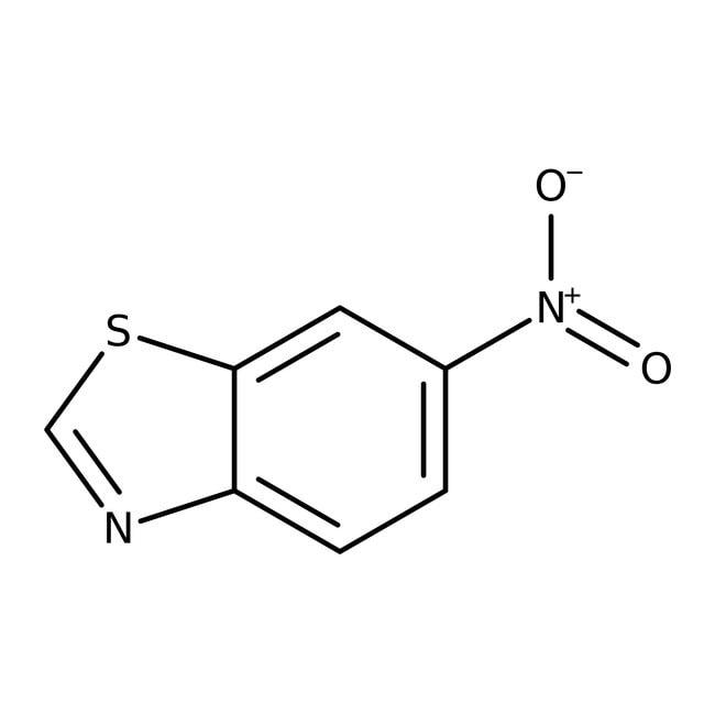 Alfa Aesar™6-Nitrobenzothiazole, 98+% 50g Alfa Aesar™6-Nitrobenzothiazole, 98+%