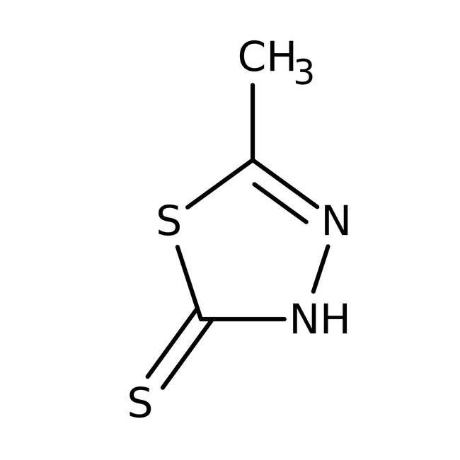 5-Methyl-1,3,4-thiadiazole-2-thiol 98.0+%, TCI America™