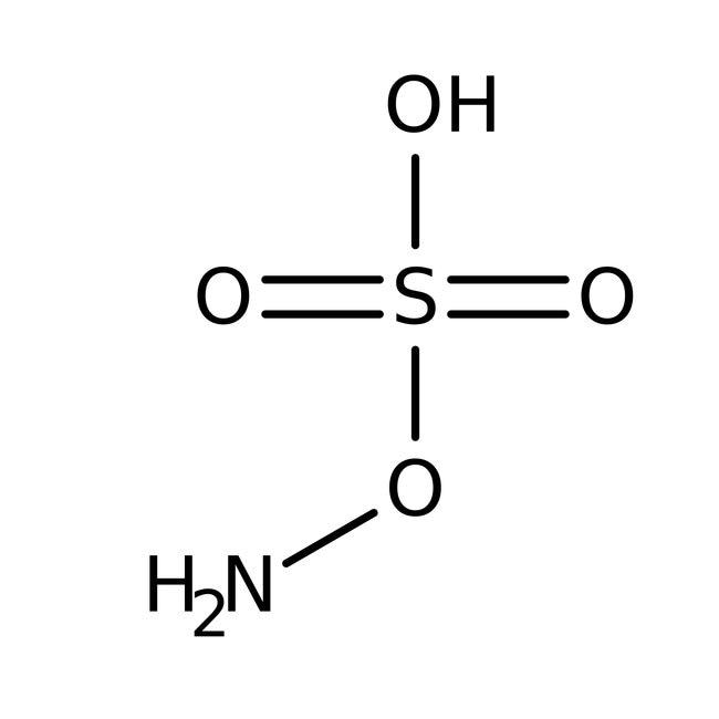 Hydroxylamine-O-sulfonic acid, 97%, ACROS Organics™ 25g Hydroxylamine-O-sulfonic acid, 97%, ACROS Organics™