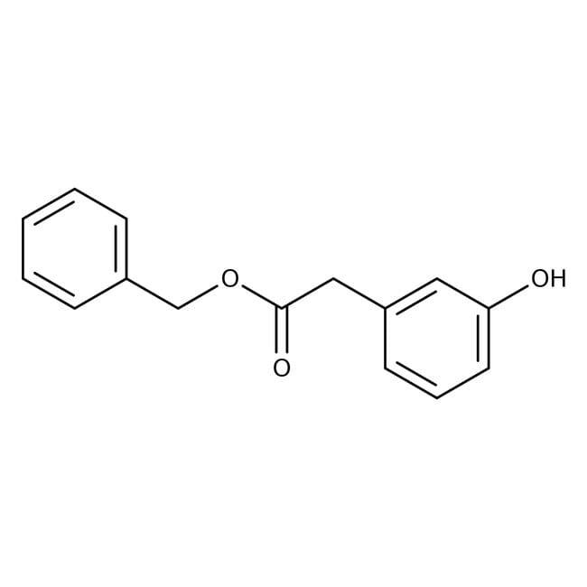Alfa Aesar™3-hidroxifenilacetato de bencilo, 98 % 1g Alfa Aesar™3-hidroxifenilacetato de bencilo, 98 %