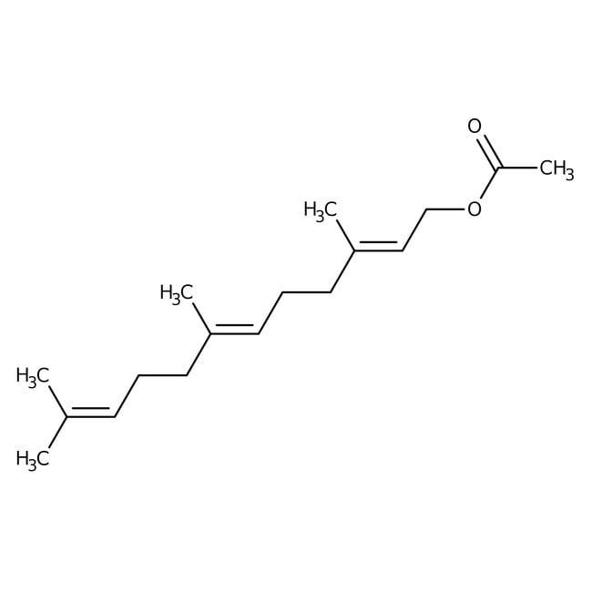 Alfa Aesar  Farnesyl acetate, mixture of isomers, 96%