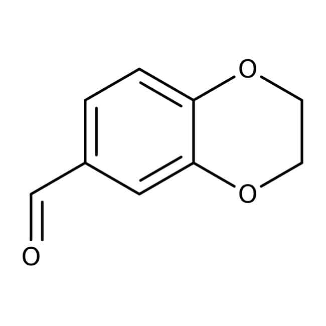 2,3-Dihydro-1,4-benzodioxine-6-carbaldehyde 97%, Maybridge: Benzodioxanes Organoheterocyclic compounds