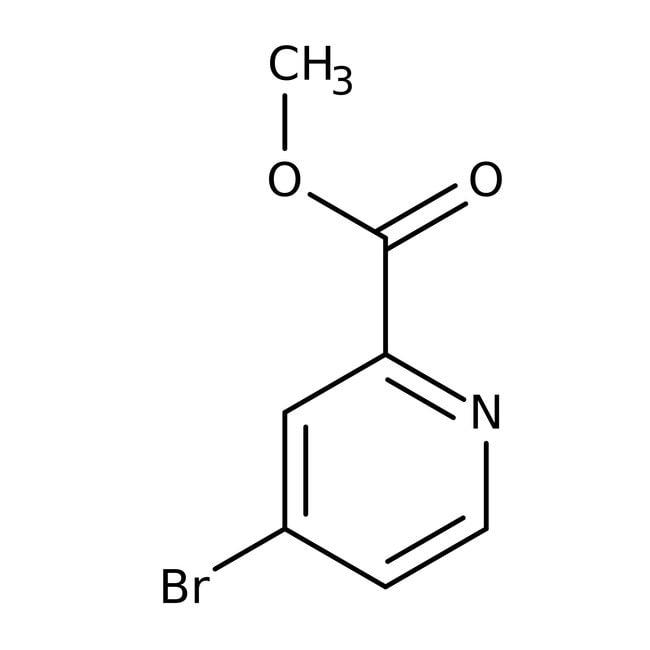 Alfa Aesar™Methyl 4-bromopyridine-2-carboxylate, ≥97% 25g Alfa Aesar™Methyl 4-bromopyridine-2-carboxylate, ≥97%