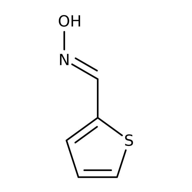 Alfa Aesar™Thiophene-2-carboxaldoxime, 98+% 25g Alfa Aesar™Thiophene-2-carboxaldoxime, 98+%