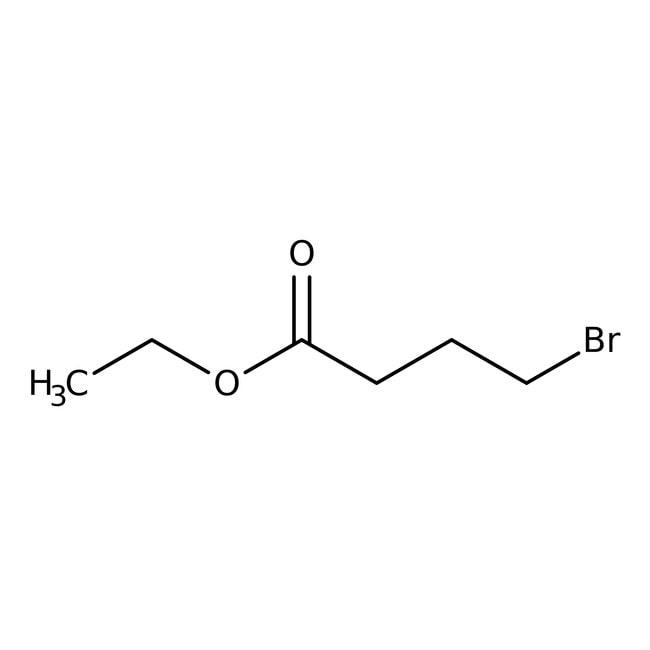 Ethyl 4-bromobutyrate, 97+%, ACROS Organics™ Glass bottle; 2.5l Ethyl 4-bromobutyrate, 97+%, ACROS Organics™