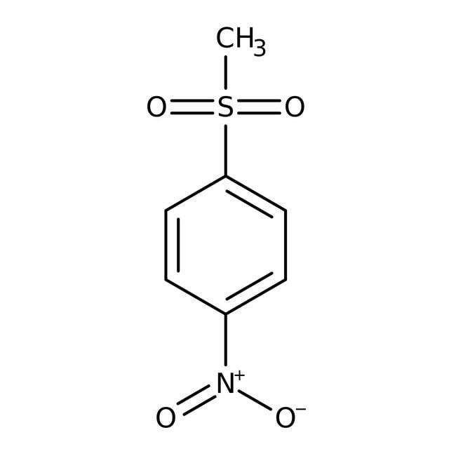 1-(Methylsulfonyl)-4-nitrobenzol, 95%, Maybridge Braunglasflasche, 10g 1-(Methylsulfonyl)-4-nitrobenzol, 95%, Maybridge