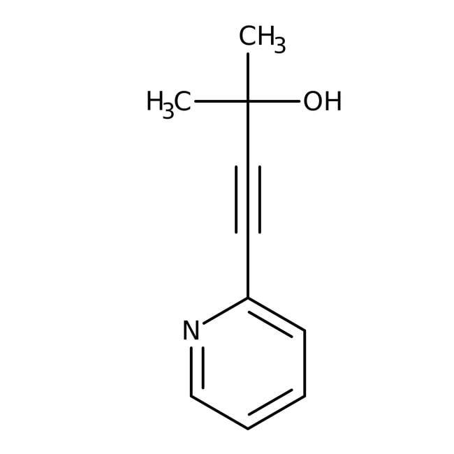 Alfa Aesar™4-(2-Pyridyl)-2-methyl-3-butyn-2-ol, 98+%