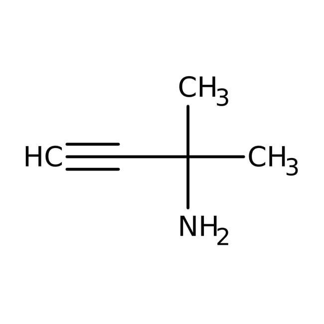 1,1-Dimethylpropargylamine, 95%, ACROS Organics