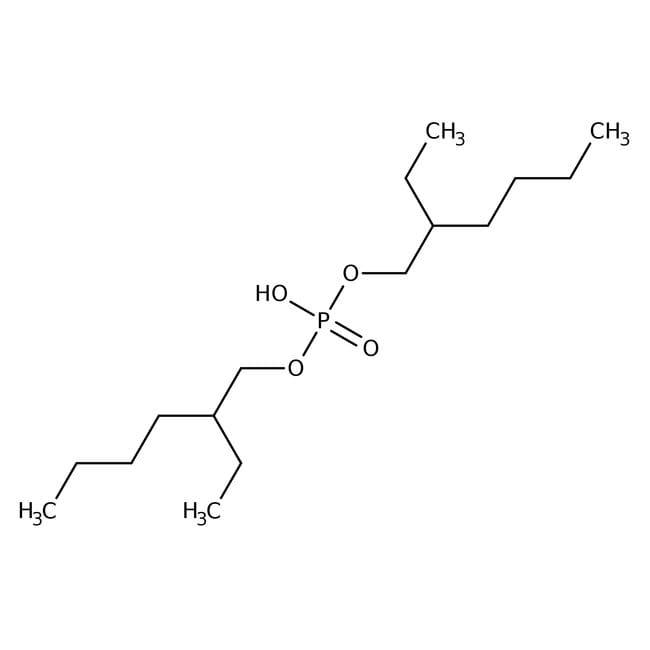 Bis(2-ethylhexyl) hydrogen phosphate, 95%, ACROS Organics™ 1kg; Glass bottle Bis(2-ethylhexyl) hydrogen phosphate, 95%, ACROS Organics™