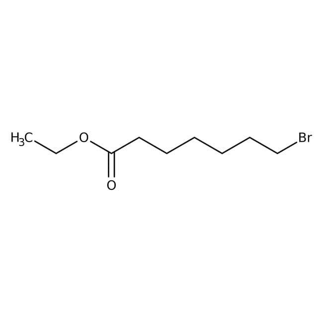 Alfa Aesar™Ethyl 7-bromoheptanoate, 97% 5mL Alkyl bromides