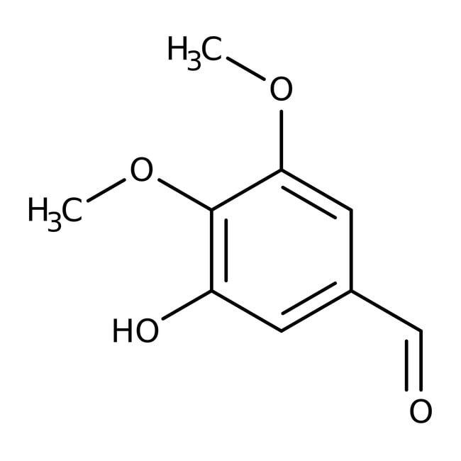 3-Hydroxy-4,5-dimethoxybenzaldehyde 98.0+%, TCI America™