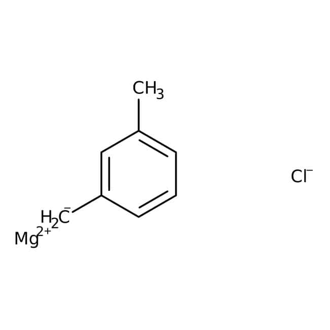 3-Methylbenzylmagnesium chloride, 0.25M solution in THF, AcroSeal , Acros Organics