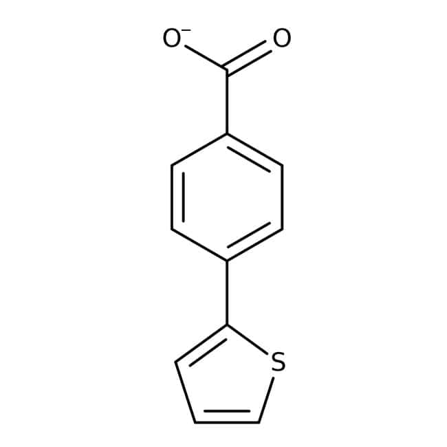 Alfa Aesar™4-(2-Thienyl)benzoic acid, 96% 1g Alfa Aesar™4-(2-Thienyl)benzoic acid, 96%