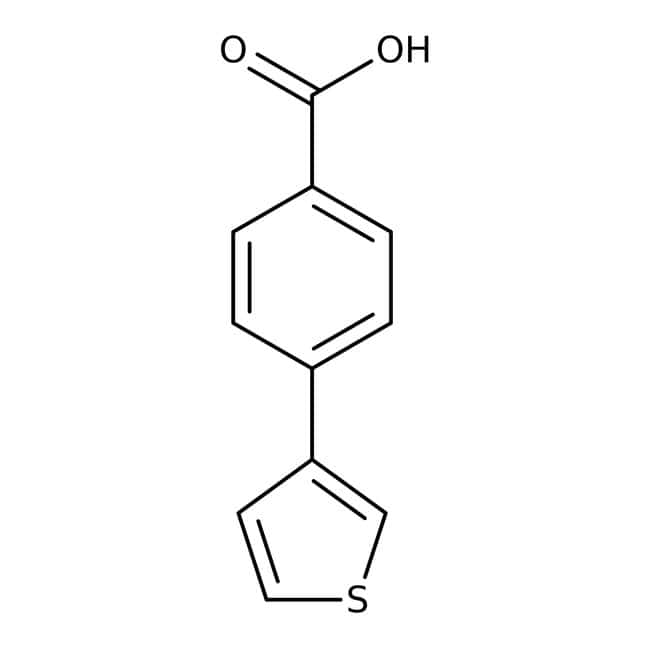 4-(3-Thienyl)benzoic acid, 97%, Maybridge™
