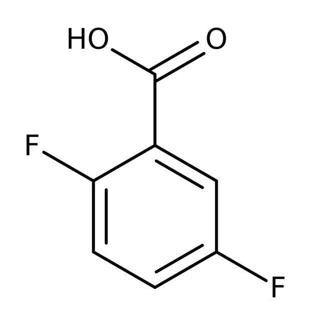 2,5-Difluorobenzoic acid, 98+%, Alfa Aesar™ 5g 2,5-Difluorobenzoic acid, 98+%, Alfa Aesar™