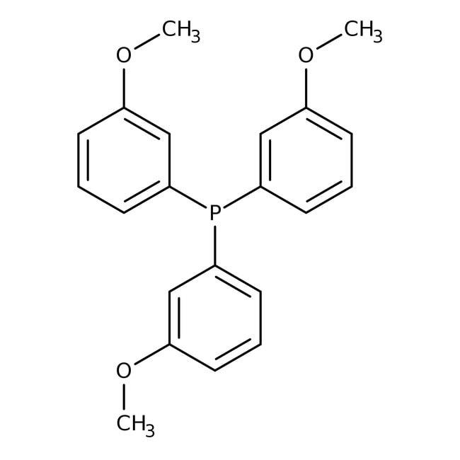 Tris(3-methoxyphenyl)phosphine, 97%, ACROS Organics