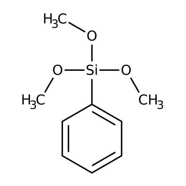 Phenyltrimethoxysilane, 85%, ACROS Organics