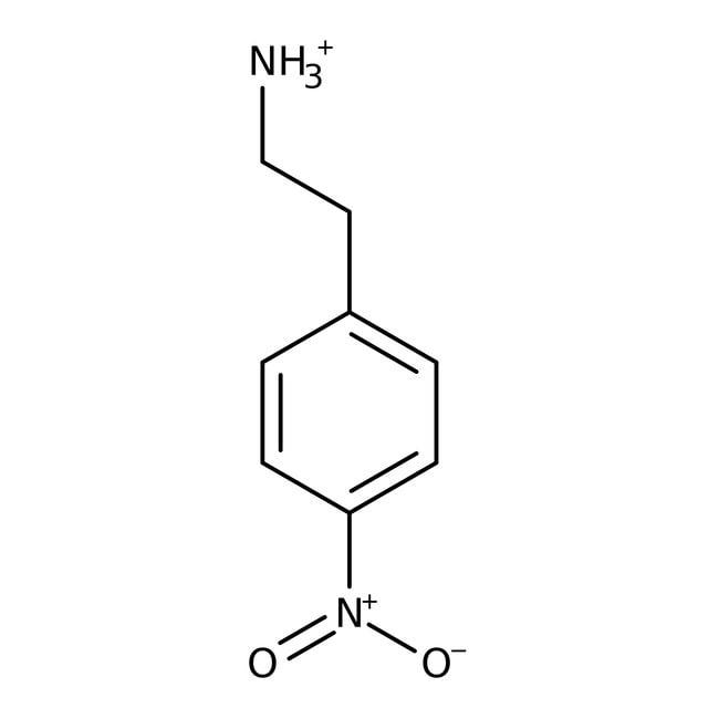 Alfa Aesar™2-(4-Nitrophenyl)ethylaminhydrochloride, ≥98% 5g Alfa Aesar™2-(4-Nitrophenyl)ethylaminhydrochloride, ≥98%