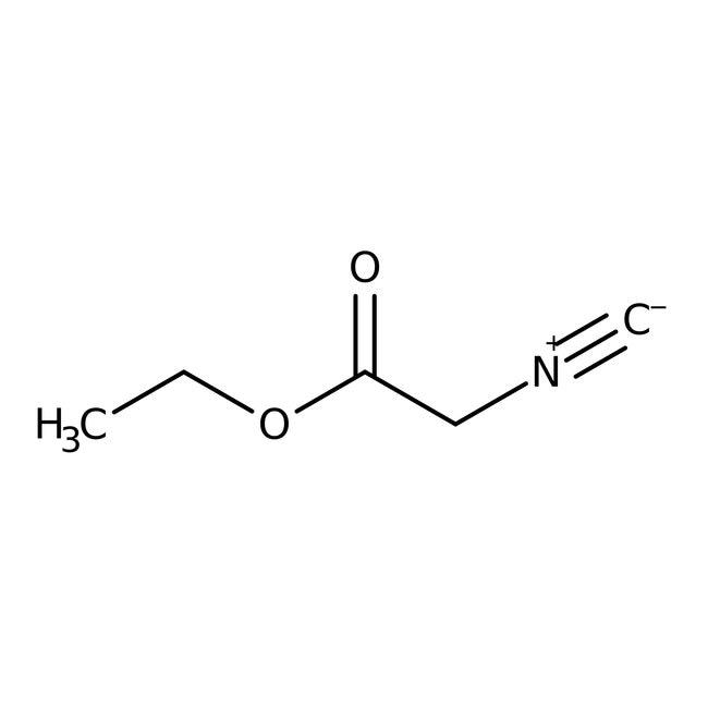 Alfa Aesar™Ethyl isocyanoacetate, 98%: Alpha amino acids and derivatives Amino acids and derivatives