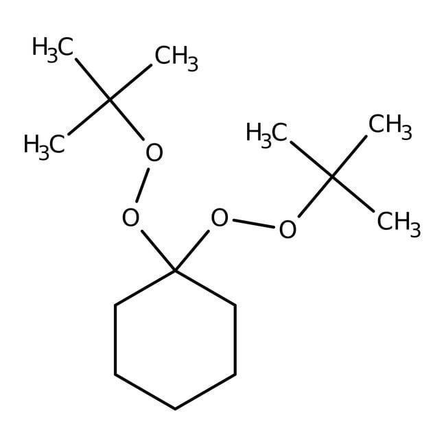 1,1-Di(tert-butylperoxy)cyclohexane, 50% solution in mineral oil, ACROS Organics™ 10mL; Plastic bottle 1,1-Di(tert-butylperoxy)cyclohexane, 50% solution in mineral oil, ACROS Organics™