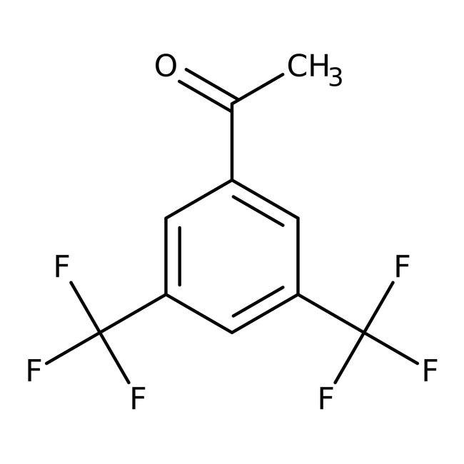Alfa Aesar™3',5'-Bis(trifluoromethyl)acetophenone, 98% 25g prodotti trovati