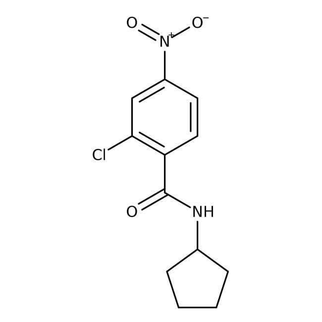 Alfa Aesar™2-Chlor-N-Cyclopentyl-4-Nitrobenzamid, 97% 1g Alfa Aesar™2-Chlor-N-Cyclopentyl-4-Nitrobenzamid, 97%